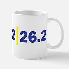 Triathlon Distance Blue Yello Mug
