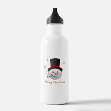 Snowman Water Bottle