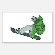 Snowboarding Decal