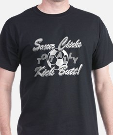 Soccer Chicks Kick Butt! T-Shirt
