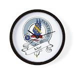 Mar Clan Badge Wall Clock