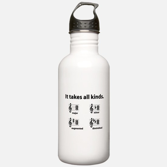 All Kinds Triads Water Bottle