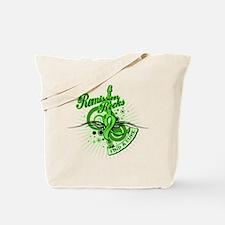 Lymphoma Remission Rocks Tote Bag