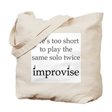 Improvise Solos Tote Bag
