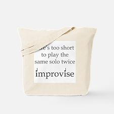 Improvise Solos Tote Bag