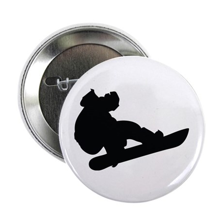 """Snowboarding 2.25"""" Button (10 pack)"""