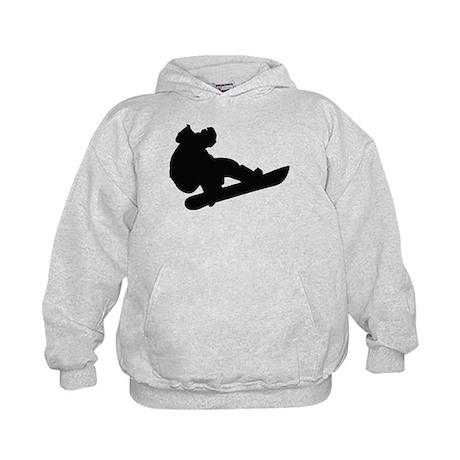 Snowboarding Kids Hoodie