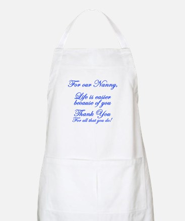 For our Nanny Apron