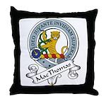 MacThomas Clan Badge Throw Pillow