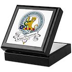 MacThomas Clan Badge Keepsake Box