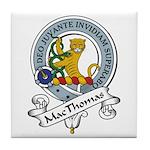 MacThomas Clan Badge Tile Coaster