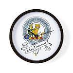 MacThomas Clan Badge Wall Clock