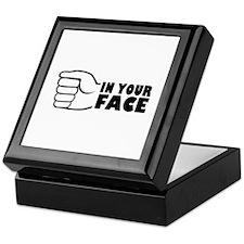 In your face Keepsake Box