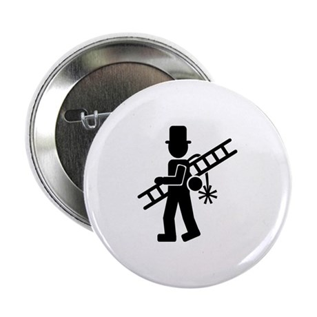 "Chimney sweeper 2.25"" Button"