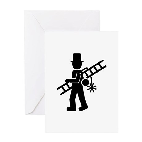 Chimney sweeper Greeting Card