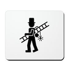 Chimney sweeper Mousepad