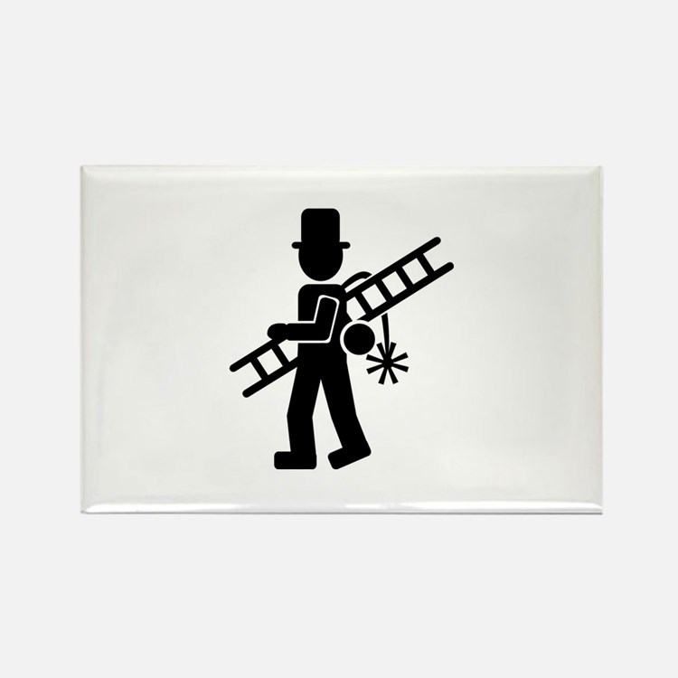 Chimney sweeper Rectangle Magnet