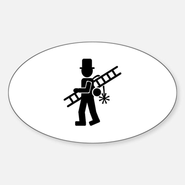 Chimney sweeper Sticker (Oval)