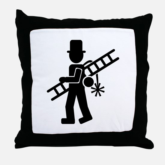 Chimney sweeper Throw Pillow
