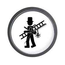 Chimney sweeper Wall Clock