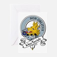 MacTavish Clan Badge Greeting Cards (Pk of 10)