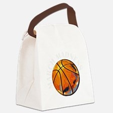 Cute March madness Canvas Lunch Bag