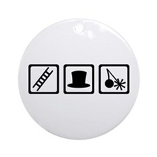 Chimney sweeper Ornament (Round)