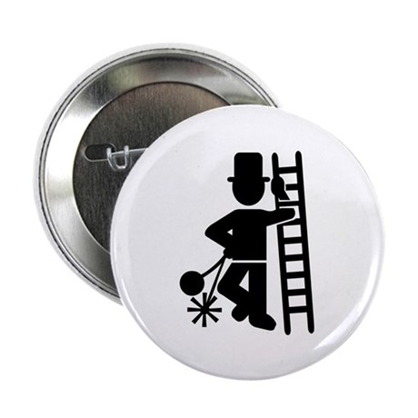 """Chimney sweeper 2.25"""" Button (100 pack)"""