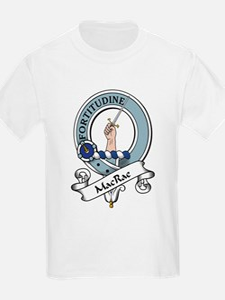 MacRae Clan Badge Kids T-Shirt