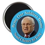 Soldiers Home Cheney to Iraq Magnet