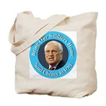 Soldiers Home Cheney to Iraq Tote Bag
