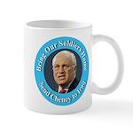 Soldiers Home Cheney to Iraq Mug