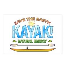 Kayak Energy Postcards (Package of 8)