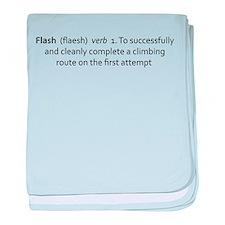 Flash baby blanket