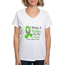 Lymphoma Ribbon Hero Shirt