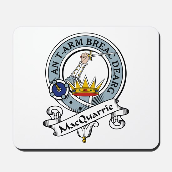 MacQuarrie Clan Badge Mousepad