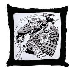 Anime Angel - Tiger Anime Throw Pillow