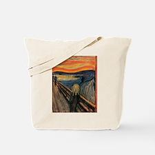The Scream Skrik Tote Bag