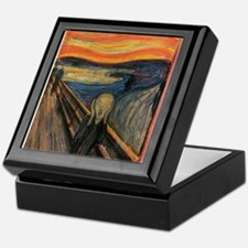 The Scream Skrik Keepsake Box