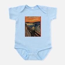 The Scream Skrik Infant Bodysuit