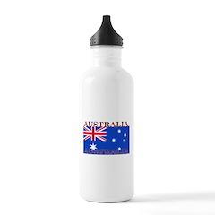 Australia Australian Flag Water Bottle