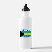 Bahamas Bahama Flag Water Bottle