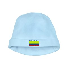 Colombia Colombian Flag baby hat