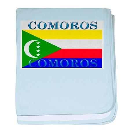 Comoros baby blanket
