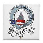 MacNeil Clan Badge Tile Coaster