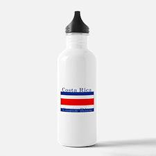 Costa Rica Costa Rican Flag Water Bottle