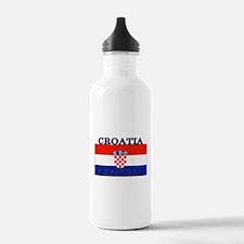 Croatia Croatian Flag Water Bottle