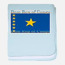 Dem Rep of Congo baby blanket