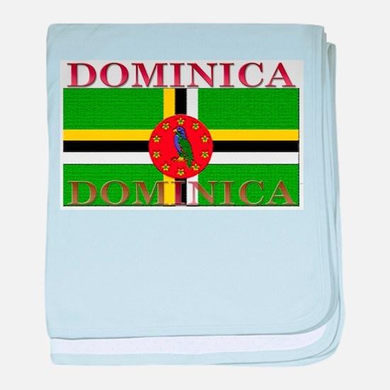 Dominica baby blanket
