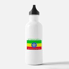 Ethiopia Ethiopian Flag Water Bottle